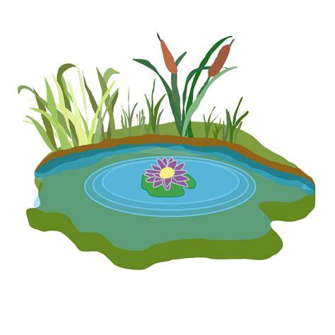 Cartoon Pond Clip Art