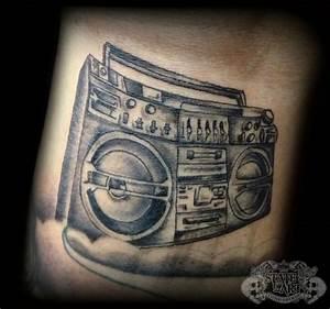 Boombox by state-of-art-tattoo on DeviantArt