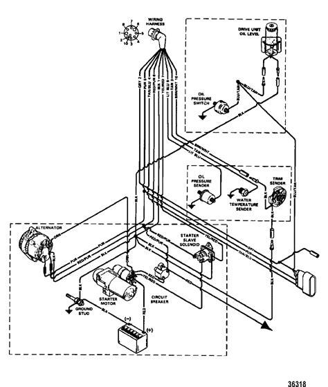 1978 Mercruiser 898 Wiring Diagram by каталог запчастей Mercruiser остальные 454 Mag Mpi Bravo