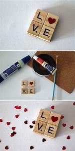 Scrabble Buchstaben Deko : diy love magnet herz aus scrabble buchstaben diycarinchen geschenke geschenkideen ~ Yasmunasinghe.com Haus und Dekorationen