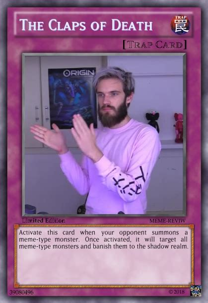 trap card  counter memers pewdiepiesubmissions