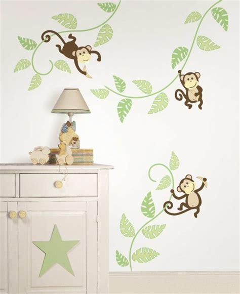 Wandtattoo Affe Kinderzimmer by Wandsticker Kinderzimmer Farbe Und Freude An Der