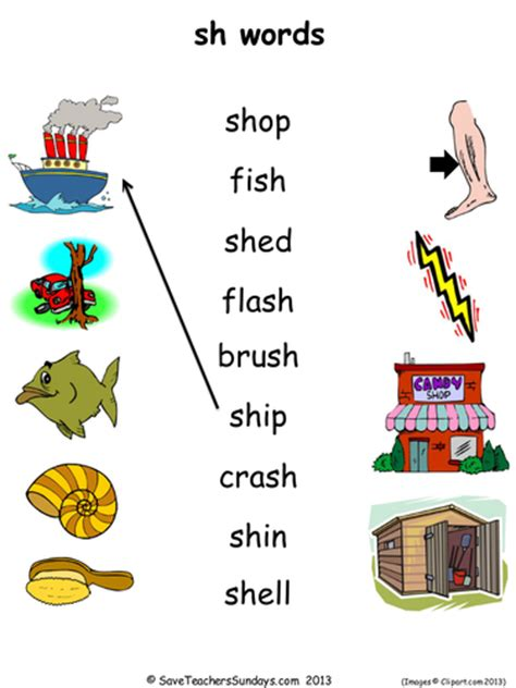 sh phonics lesson plan worksheets and activities by