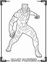Panther Coloring Pages Print Children sketch template