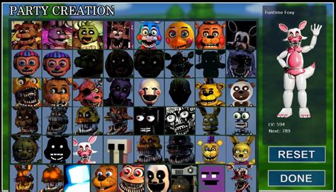 how to make fan video edits fnaf world normal animatronics on party creation by