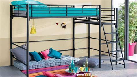 lit mezzanine dans la chambre des ados diaporama photo