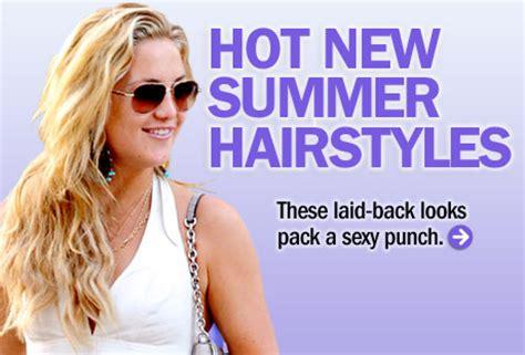 summer hairstyle tips hot hair ideas  summer