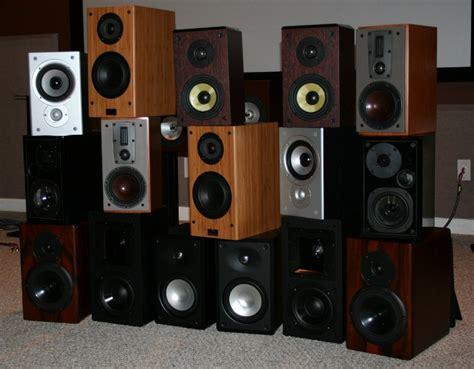 Bookshelf Speaker Setup - bookshelf speaker faceoff 2007 audioholics