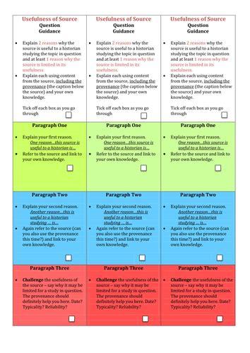 aqa   gcse health   people essay structure strips