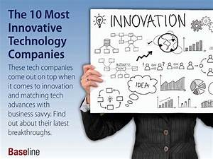 10 Tech Companies That Are the Most Innovative