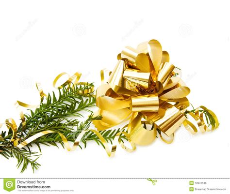 Awards And Decorations Branch by Pine Tree Branch With Decorations Royalty Free