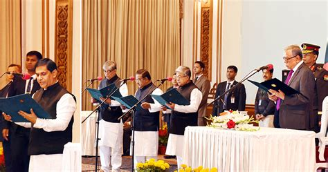 Cabinet Ministery by Cabinet Gets 3 New Ministers One State Minister Dhaka