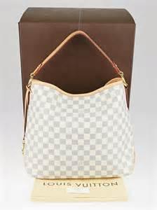 louis vuitton damier azur canvas delightful pm nm bag yoogis closet