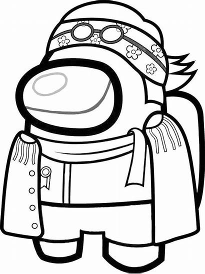 Among Coloring Pages Monster Printable Coby