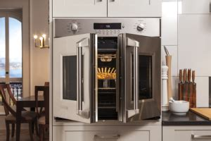 ge monogram french door wall oven friedmans ideas  innovations