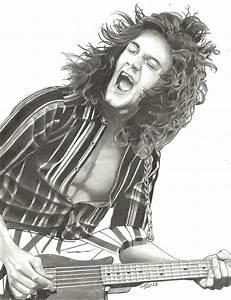 Eddie Van Halen  51 By Lryvan On Deviantart