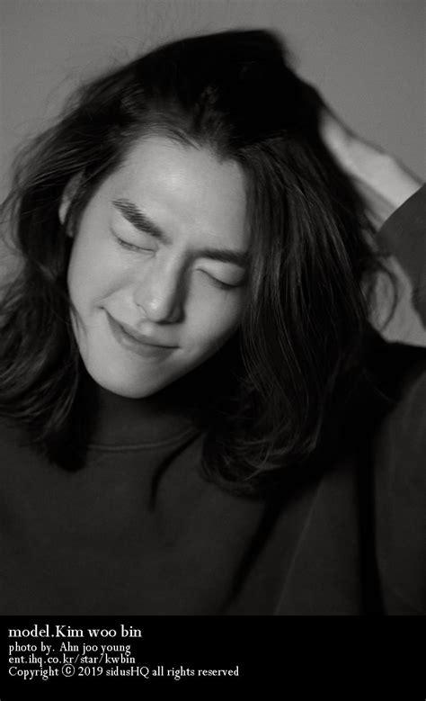 foto foto kim woo bin gondrong pemotretan terbaru