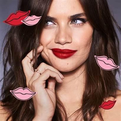 Victoria Secret Beauty Sara Pink Sampaio Kiss