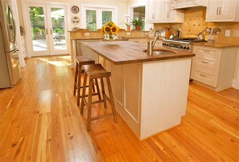 wood floor kitchen pictures cheap ideas using hardwood flooring for countertops 1572