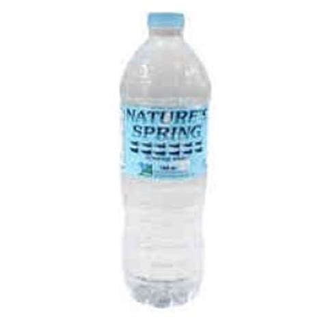 NATURE SPRING DRINKING WATER   1000 ML