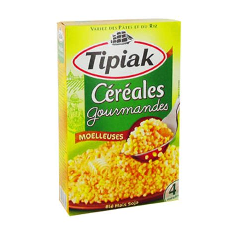 cuisines du monde cereales gourmandes tipiak 400g achat en ligne simply market