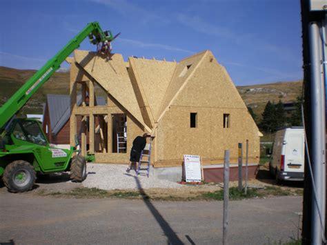 maison en bois drome maison ossature bois maison 224 font d urle 26 dr 244 me