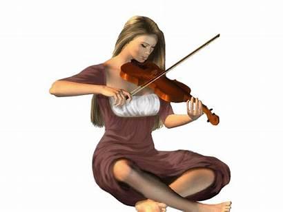 Gifs Violon Femme Musicienne Animaciones Animated