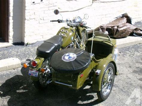 Bmw Motorcycle With Sidecar For Sale by 1938 Bmw R 71 Design Motorcycle And Sidecar For Sale In