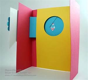 Amazing Birthday Window Fun Fold Card Video Take a