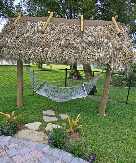 Hammock Hut by Bamboo Landscapes Chickee Hut Gallery South East
