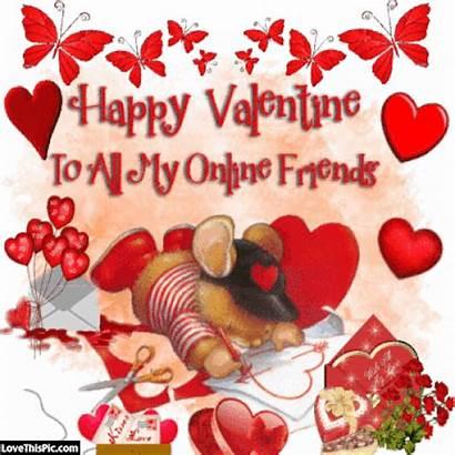 Valentines Happy Friends Quotes Valentine Friend Greetings