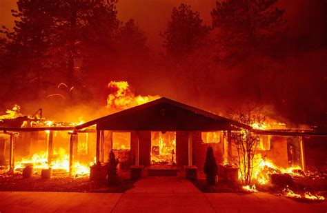 California Adapts To More Destructive Wildfires Time
