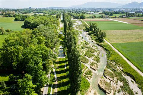 Renaturation Of The River Aire, Geneva « Landscape
