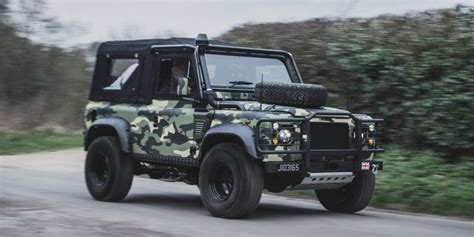 land rover military defender land rover defender military edition tweaked automotive