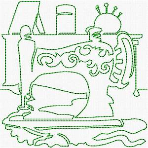 Free Mug Embroidery Design Continuous Line Sewing Machine Ii