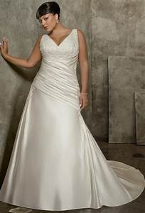 wedding gowns for plus size brides weddingelation With vera wang plus size wedding dresses