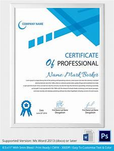 Free Certificate Template Word Certificate Template 31 Free Download Samples Examples Format Free Premium Templates