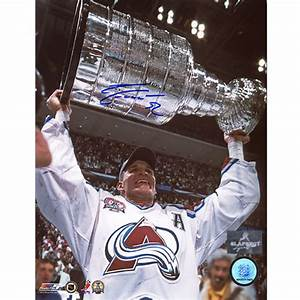 Adam Foote Colorado Avalanche Stanley Cup Autographed 8x10 ...
