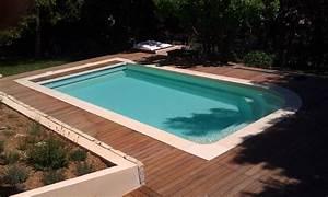 Piscine Avec Terrasse Bois : tour de piscine pas cher marseille parquet et terrasse en bois aix en provence les terrasses ~ Nature-et-papiers.com Idées de Décoration
