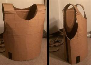 how to make a cardboard chest piece armor for chase39s With cardboard armour template
