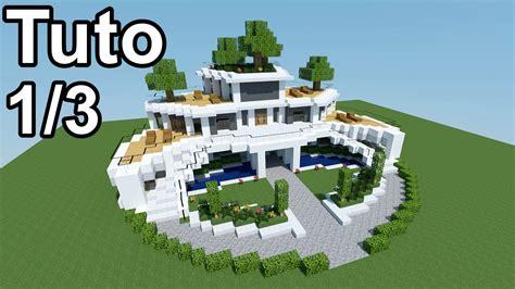 comment faire une maison moderne minecraft 233 quipement de maison