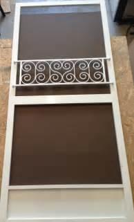 push bar for screen door vintage inspired design