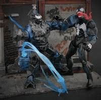 symbiote riot marvel universe custom action figure