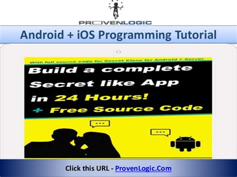 android programming tutorial android ios programming tutorial