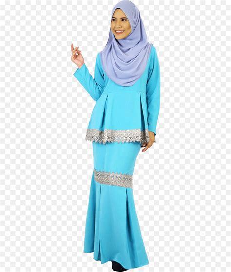 A classic muslimah baju kurung by cy. Tshirt, Baju Kurung, Gamis gambar png