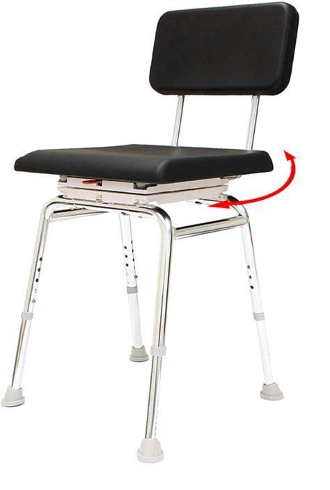 Snap N Save Swivel Padded Shower Chair : arthritis shower