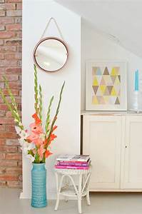 Spiegel Deko Ideen : diy spiegel aus einem tablett leelah loves ~ Markanthonyermac.com Haus und Dekorationen