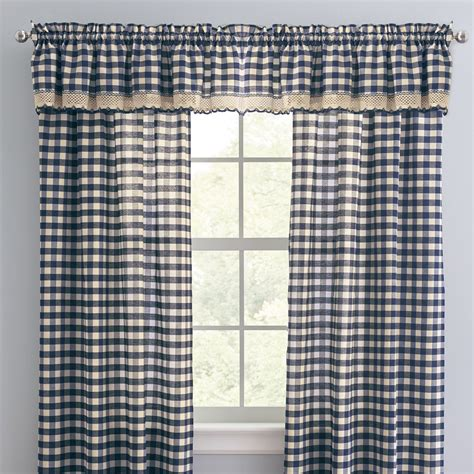 buffalo plaid curtain brylanehome