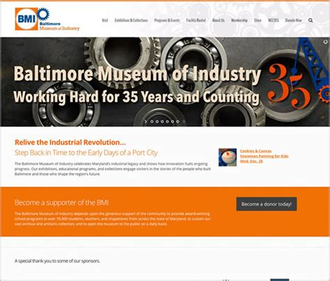 baltimore web design baltimore web design maryland web design eyler creative