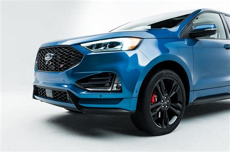 Ford 2019 : 2019 Ford Edge Goes St, Gets Mid-cycle Refresh